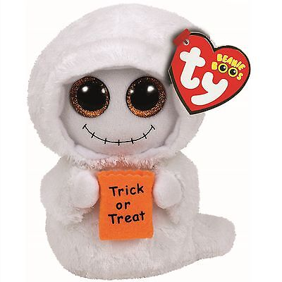 Ty Beanie Babies 37194 Boos Mist the Trick or Treat Ghost Halloween Boo