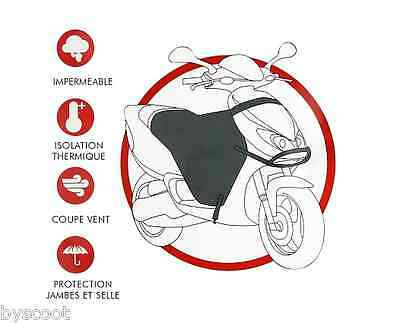 Tablier protection jupe universel scooter maxi-scooter imperméable thermique