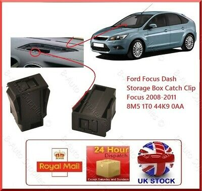 Ford Focus Centre Glove Box Lock Clip Repair Kit 8M51T044K90AA Focus mk3 08>11