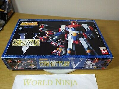 Soul of Chogokin GX-03 Combattler V Bandai From Japan USED