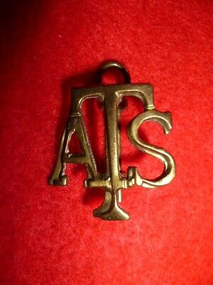 Auxiliary Transport Service WW2 Brass Collar Badge - Women's interest