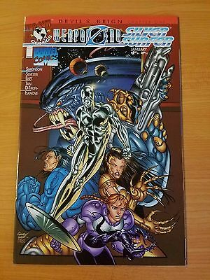 Silver Surfer / Weapon Zero #1 ~ NEAR MINT NM ~ (1997, Marvel Comics)