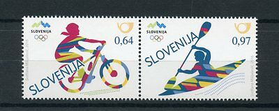 Slovenia 2016 MNH Summer Olympic Games Rio 2016 2v Set Cycling Olympics Stamps