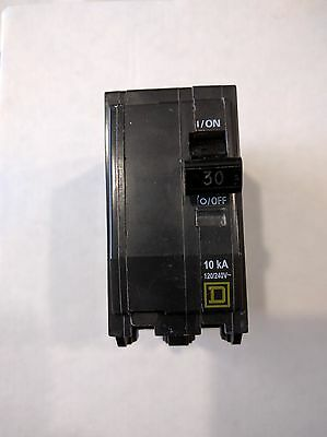 Square D QO230 Circuit Breaker 2 Pole 30 Amp 120/240 Volt Plug-on