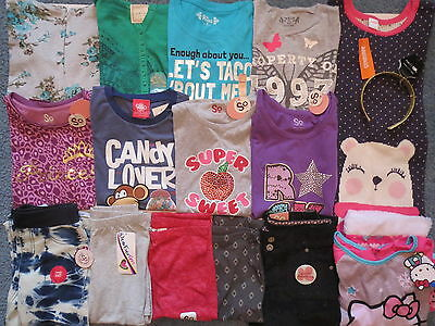 NWT Girl Fall Clothes Lot Size 10 12 Outfits Sleepwear Gymboree Mudd Hello Kitty