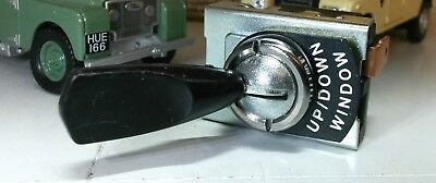 AC Cobra 427 Kit Classic Car Lucas Type Toggle Switch Window Up Down & Tab Tag