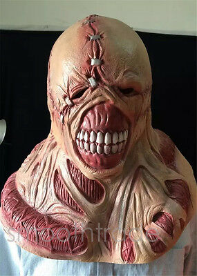 Resident Evil Zombie Evil Devil Cosplay Mask Halloween Party Costume Props Mask