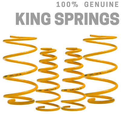 HOLDEN COMMODORE VF SEDAN 8CYL F&R SSSL COIL SPRINGS lowers approx 50-60mm