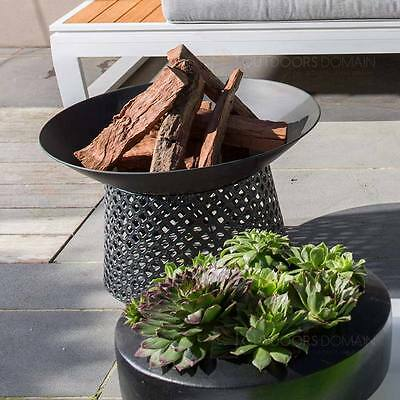 Charmate Black Fire Pit Bowl with Perforated Base FP06