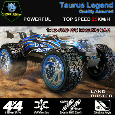 1:12 Remote Controlled 4WD 4x4 Off Road Truggy RC Car Land Buster-Beginer Level