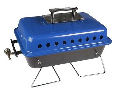 PORTABLE TABLETOP GAS BARBECUE BBQ camping sizzle bar-b-q cartridge bruce kampa