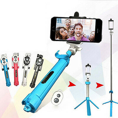 Extend Handheld Selfie Stick Tripod Bluetooth Remote Shutter for iPhone Welcome