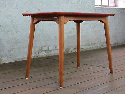 Mid Century 50s 60s Danish Modern Sofa Coffee Couch Side Table Retro Vintage G