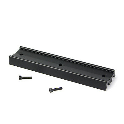 Black Telescope Dovetail Mounting Plate for Equatorial Tripod Long Version 170mm