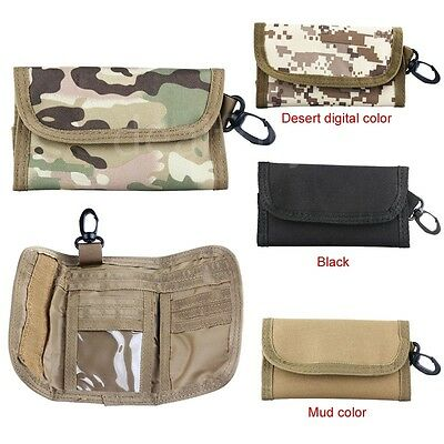 Tactical Army Military Style Wallet Bag Waist Pack Pouch ID Card Holder Pcck New