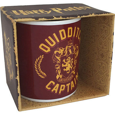 Harry Potter - Gryffindor Quidditch Captain Mug - New & Official Warner Bros