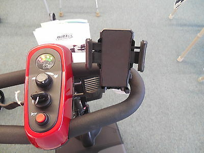 Pride Mobility Golden Tech Scooter POV Cell Phone GPS MP4 iphone holder *NEW*
