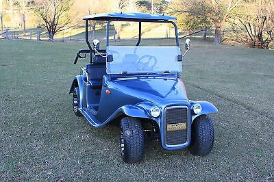 Hawk Roadster Electric Sports 2 Seat Golf Cart