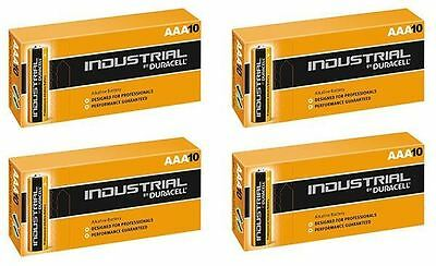 40 X Duracell AAA Industrial MN2400 Battery Alkaline Replaces Procell Exp 2023