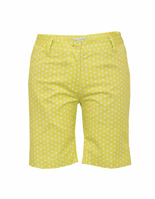 25% OFF Green Lamb Polka Dot Shorts Casual Active Golf Womens Ladies