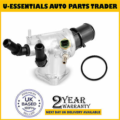 For Saab 9-3 1.9 TiD Thermostat + Thermostat Housing With Sensor 55203388
