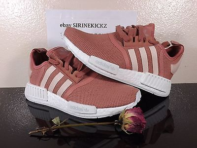 on sale 41b00 31833 Women s Adidas NMD R1 W S76006 Raw Pink Rose Salmon Size 6.5 GLOBAL SHIPPING
