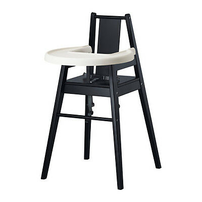 HELPFUL BLÅMES Highchair with tray available in 2 colours