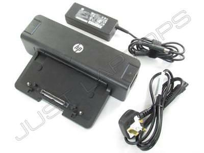 Neu HP EliteBook 8540p 8740w USB 3.0 Docking Station Port Replikator + 90W PSU