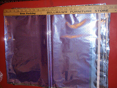 Lot ( 50 )  Large Mylar Foil Sealable Bags  23 X18 Inches