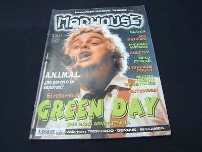 GREEN DAY Madhouse Argentina Magazine 1990´s