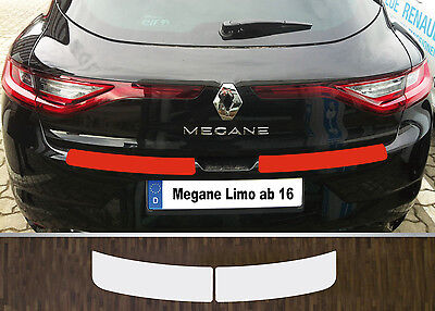 Clear Protective Foil Bumper Transparent Renault Megane 4 Saloon, from 2016