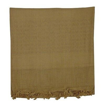 New Voodoo Tactical Woven Coalition Desert Scarf Cotton, Coyote Tan 08-306507000