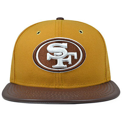 599c84f10 San Francisco 49ers METAL HOOK PEANUT BUTTER Fitted 59Fifty New Era NFL Hat
