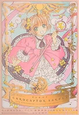 Cardcaptor Sakura 20th Anniversary Illustrations Art Book CLAMP F/S tracking NEW
