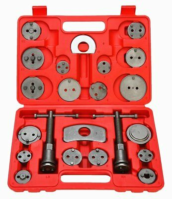 22 Pcs Universal Auto Disc Brake Caliper Brake Piston Wind Back Rewind Tool Set