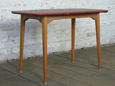 Mid Century 50s 60s Danish Modern Sofa Coffee Couch Side Table Retro Vintage K
