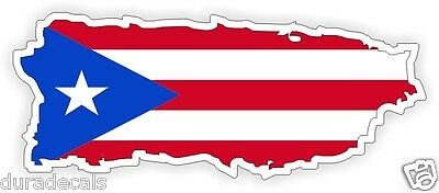 Puerto Rico Flag Hard Hat Decal | Helmet Sticker | Label | Puerto Rican USA