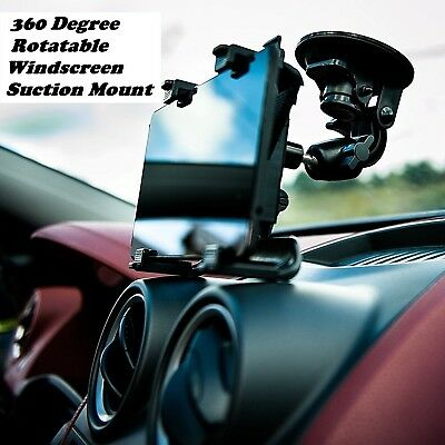 """Universal Car 360 Degree Windscreen Suction Mount Holder iPad Tablets 7"""" to 11"""""""