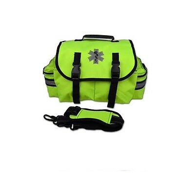 NEW Yellow Lightning X Small First Responder Bag w/ Dividers, Medical First Aid