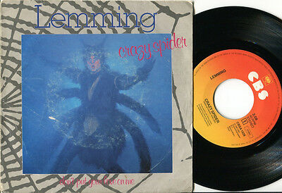 """LEMMING - Crazy Spider / Don't Put Your Love On Me 7"""" RARE 1981 DUTCH PS"""
