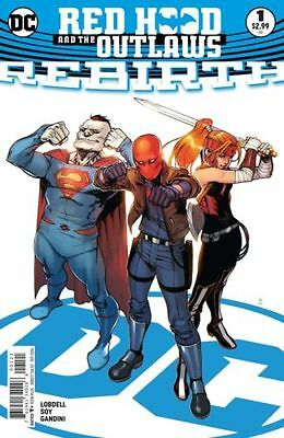 Dc Red Hood And The Outlaws Rebirth #1 Variant Dc Universe Rebirth