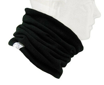 Turtle Fur Fleece Turtle's  Neck Warmer Adult Black 101101