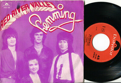 """LEMMING - Red River Valley / Surfin' Love 7"""" RARE 1977 DUTCH PS"""