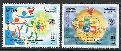 Bahrain Mnh 2003 World Health Day Set