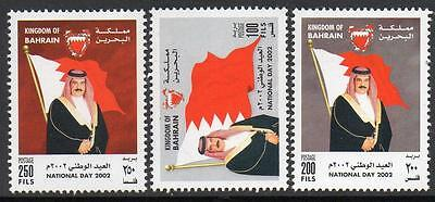 Bahrain Mnh 2002 National Day Set