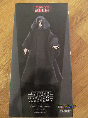 Sideshow Collectibles Emperor Palpatine 1:6 Scale Figure Excellent Condition