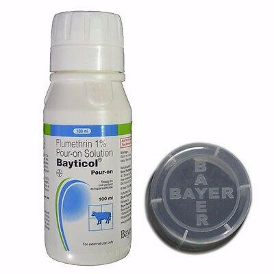Flumtherin 1% Bayticol Pour-On Solution - Ready To Use Potent Ectoparasticide