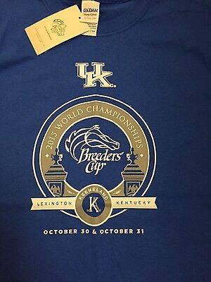 "2015 University of Kentucky S Breeders Cup T-Shirt  NWT"" Last Chance"""