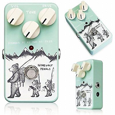 Brand new Ninevolt Pedals Fishing is Fun as Fuzz Guitar Pedal Effect