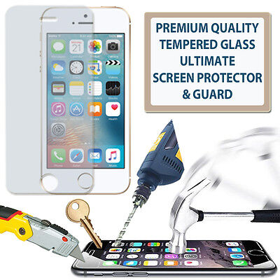 100% Genuine Tempered Glass Film Screen Protector Guard For Apple Ipod Touch 5/6